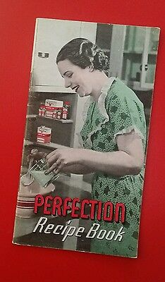 Vintage Perfection Recipe Booklet Printed by Avon