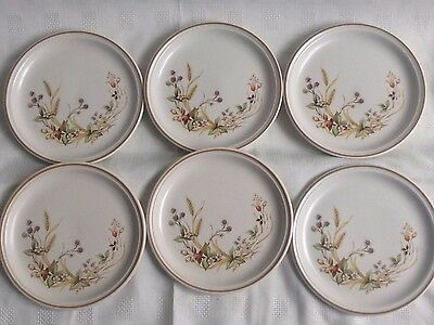 Marks And Spencer Harvest Plates X 6