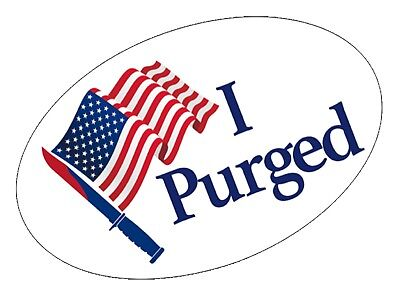 Small I Purged (The Purge Anarchy Election Year) Halloween Costume Horror