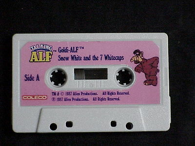 Talking Alf Audio Cassette Tape Goldi-Alf Plus 3 More Stories Works