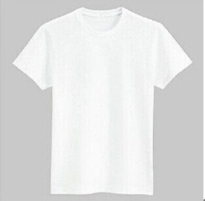 Blank White Polyester Sublimation Tshirt M