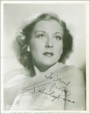 Shirley Ross - Inscribed Photograph Signed Circa 1938