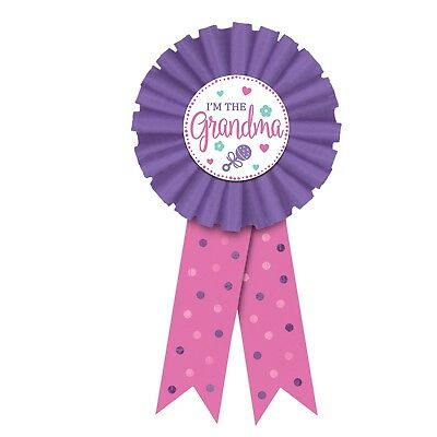 New I'm the Grandma Pink Award Ribbon