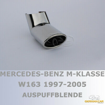 Exhaust Tips Muffler Tail Pipe 1X1 Amg Sport For Mercedes W163 Ml-Class