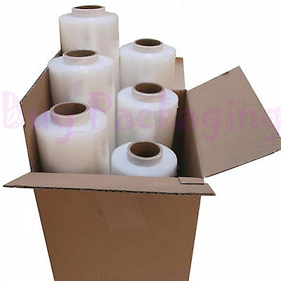 Strong Rolls Clear Pallet Stretch Shrink Wrap Parcel Packing Cling Film *fast*