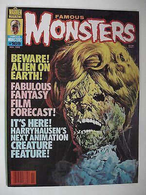 Famous Monsters Beware! Alien On Earth!  English Magazine # 169 1980