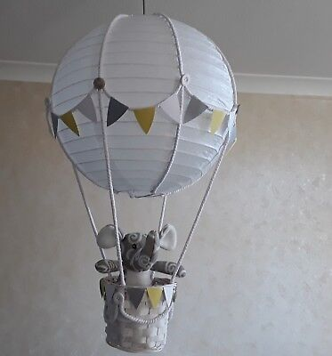 Cute Elephant In Hot Air Balloon light lamp  shade    Keel toy