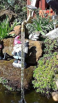 Magic floating tap waterfeature