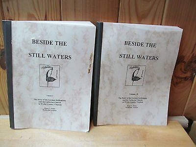 Beside Still Waters Vol 1 & 2 Ruger Kluttz Wythe County Virginia Lutheran German
