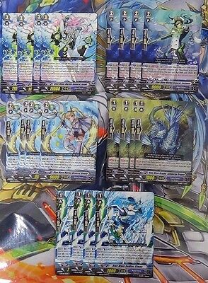 Aqua Force Blue Wave Deck Core Cardfight Vanguard