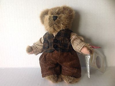 Russ Berrie Bear Gordon Vintage and Limited Edition New w Tags