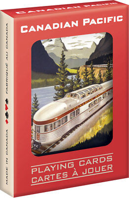 Canadian Pacific Railway CPR Vintage Artwork Playing Cards