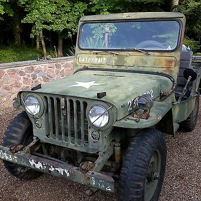 Willys jeep M38 military vehicle classic car barn find