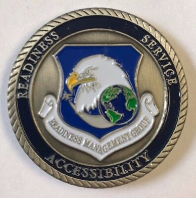 USAF US Air Force Reserve Command Readiness Management Group Commander