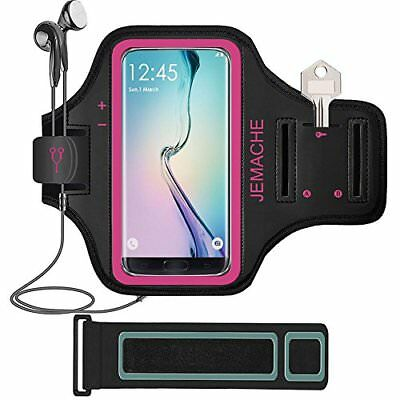 Galaxy S8+/Note 8 Armband, JEMACHE Gym Running Workout Enhanced Arm Band for