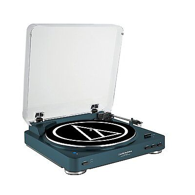 Audio-Technica AT-LP60NV-BT Bluetooth Turntable Navy ATLP60NVBT