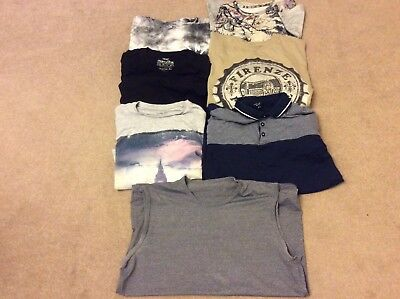 mens tshirt bundle  x 7 size m
