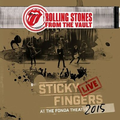 The Rolling Stones - From The Vault, Sticky Fingers Live 2015, 1 DVD + 1 Audi...