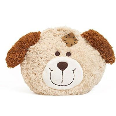 GRÜNSPECHT Naturprodukte G172-V1 - stuffed toys (Toy dog, Brown, Cream, Plush)