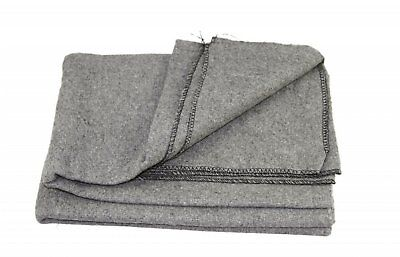 "All Purpose Utility & Camping Blanket 60"" W X 80"" L - Grey"