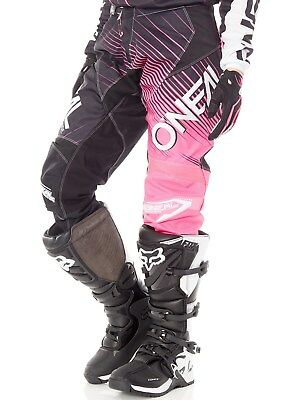 Oneal Black-Pink 2018 Element Racewear Womens MX Pant