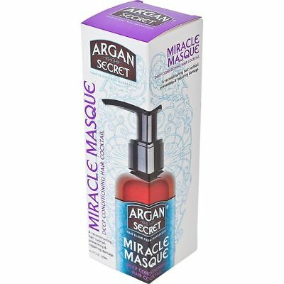 Argan Secret Miracle Masque Deep Conditioning Hair Cocktail 125ml SPECIAL OFFER