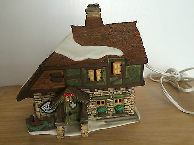 Dept 56 Dickens Village Series Christmas 1997 lighted Old East Refectory