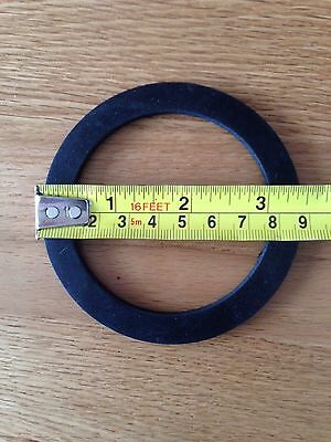 "Large Rubber Washer Gasket Water Pump Hose Couplings 2"" & 3"""