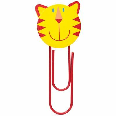 Extra Large Wooden Animal Paper Clip Cute Adorable Stationery Bookmark