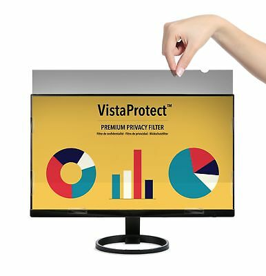 VistaProtect - Premium Privacy Screen Filter & Protector for Computer Monitor...