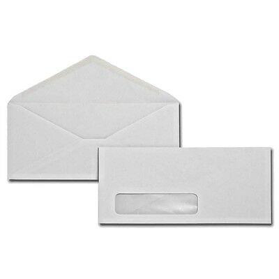 1000 #10 Window Envelopes Custom Printed In 1 Color FAST FREE SHIPPING