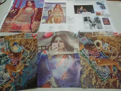 Selena Gomez  Big  lot of posters & clippings #BZ2