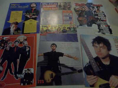 Greenday  Green Day  big lot of  clippings #XW6