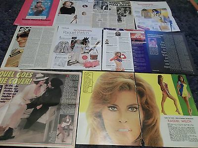 Raquel Welch big lot of  clippings #RC6