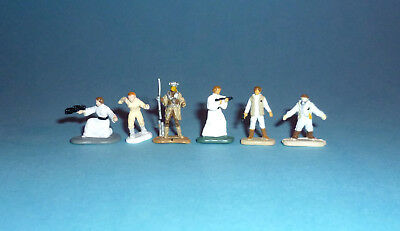 STAR WARS Micro Machines - PRINCESS LEIA Figures LOT - Galoob