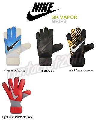 Nike Adult Unisex ASSORTED GK VAPOR GRIP 3 Soccer Goalkeeper Gloves NEW IN BOX!