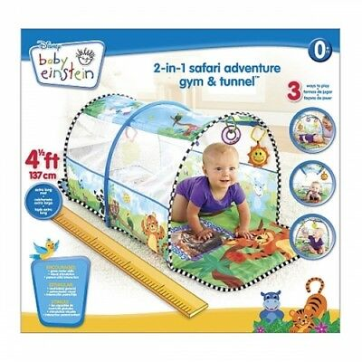 Baby Einstein 2 In 1 safari Adventure Gym & Tunnel