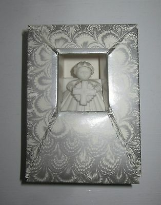 New in Box - Margaret Furlong Collectible Ornament - Angel with Cross, 1988