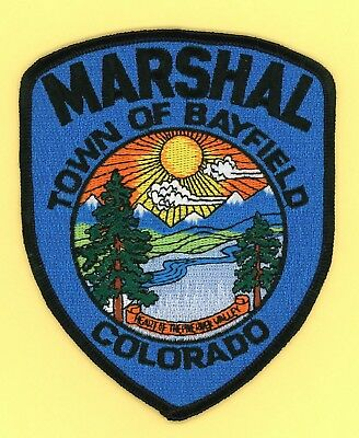 Town of Bayfield Marshal (Colorado) Shoulder Patch from the 1980s