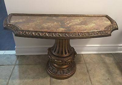 Vintage Pedestal Table / Stand Ideal for a Grand Entranceway
