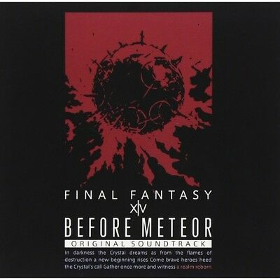 New Before Meteor FINAL FANTASY XIV Original Soundtrack Blu-ray Music From Japan