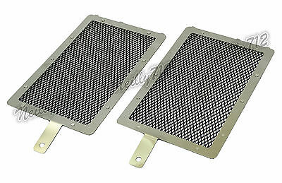Radiator Grille Guard Cover Set Black For 2013-2017 BMW R1200GS Adventure LC AU