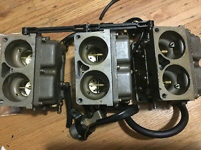 1989 Mercury 135Hp Carburetor 7563A10 7563A11 7563A12 42859A 2 135Hp-200Hp