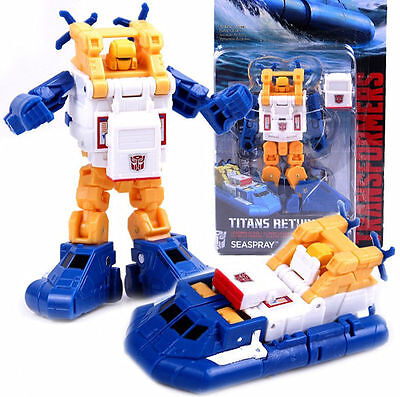 "Transformers Generations Titans Return Legends Class Seaspray 3"" New Toy"