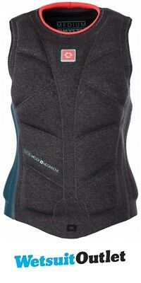 2017 Mystic Diva Ladies Wake Impact Vest Teal 170334