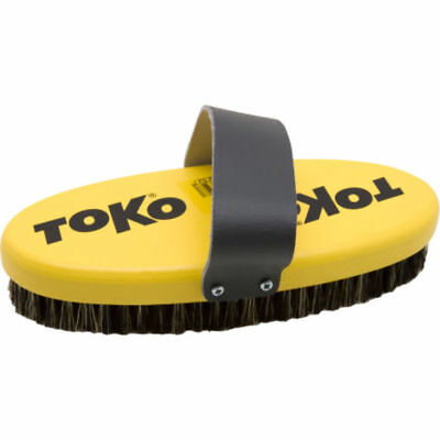 Toko Ski & Snowboard Copper Oval Base Brush with Strap (17mm) Mens Unisex  New