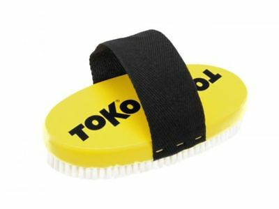 Toko Ski & Snowboard Nylon Oval Base Brush with Strap (15mm) Mens Unisex  New