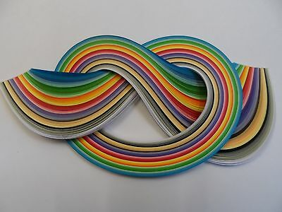 Quilling Paper 5mm -  Assorted colours