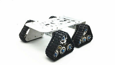 4wd Metall Tank Smart Crawler Roboter Chassis für DIY Roboter Spielzeug Auto