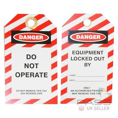 Do Not Operate Lockout Tag - Pack of 10